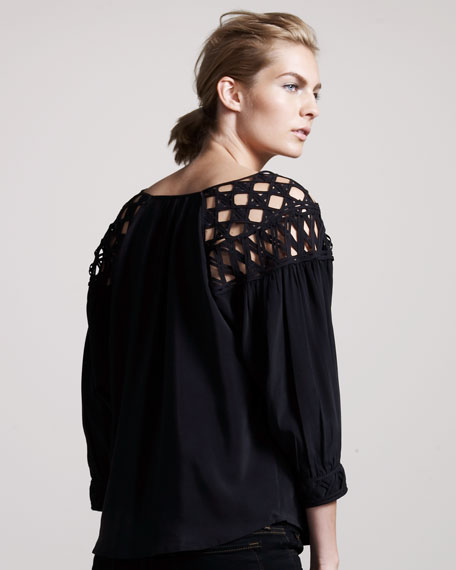 Resilience Silk Top