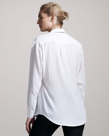 Signature Silk Blouse