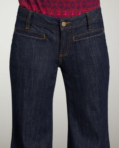 Wide-Leg Trouser Jeans