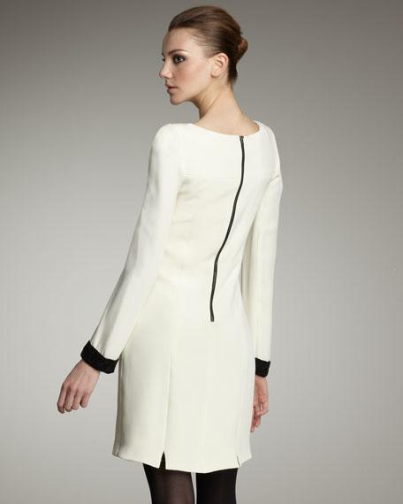 Kelley Beaded-Cuff Dress