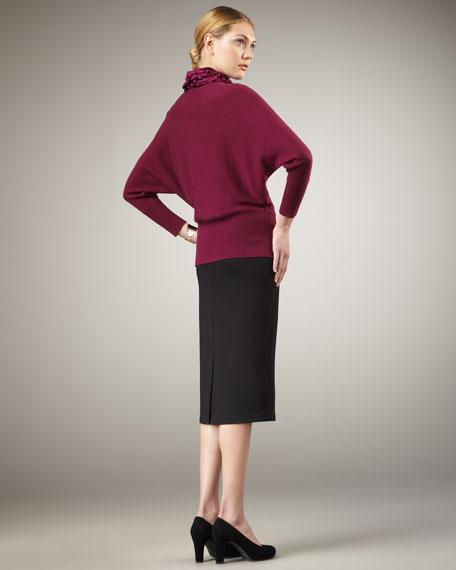 Ponte Pencil Skirt, Petite
