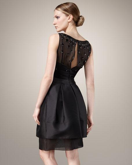 Beaded Bodice Dress