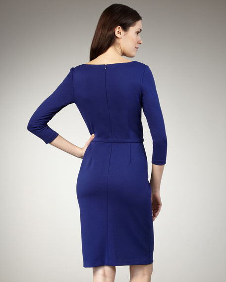 Fold-Over Detail Dress