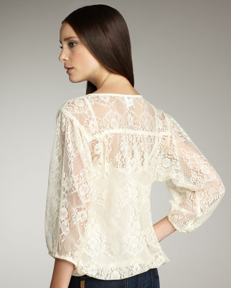 Serendipity Lace Top