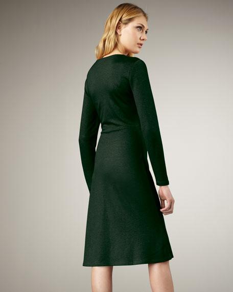 Liz Pleat-Detail Dress