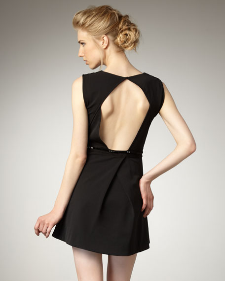 Cutout Back Dress