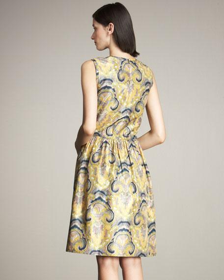 Sophie Paisley-Print Dress