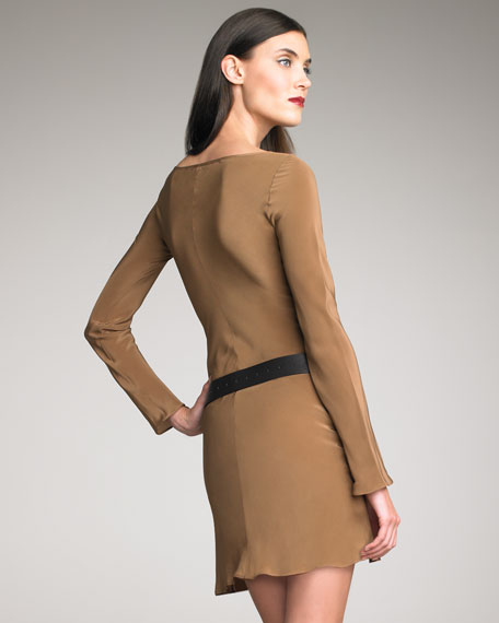 Faye Silk Dress