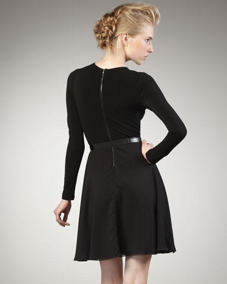 Cybil Belted Dress