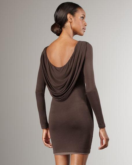 Tabitha Cowl-Back Dress