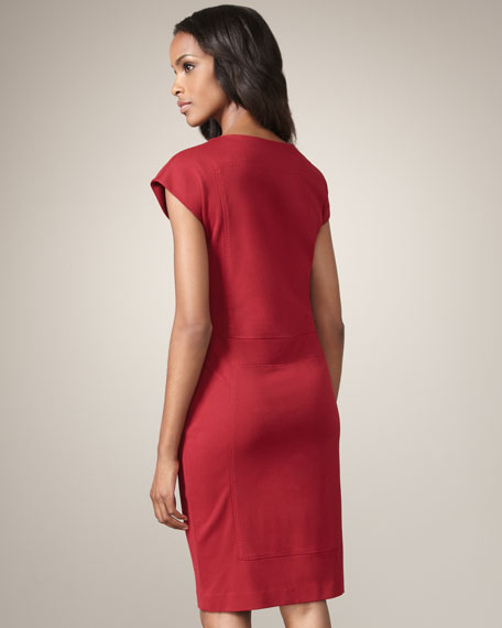 Double-Knit Sheath Dress
