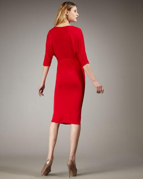 Red de Rigeur Jersey Dress