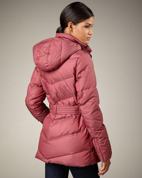 Shilah Belted Puffer Coat