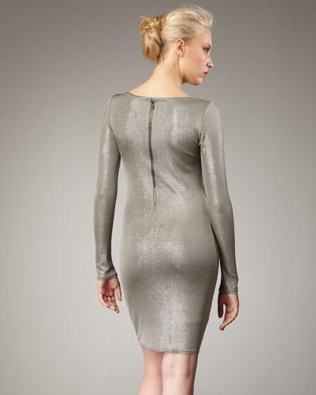 Tabitha Metallic Dress
