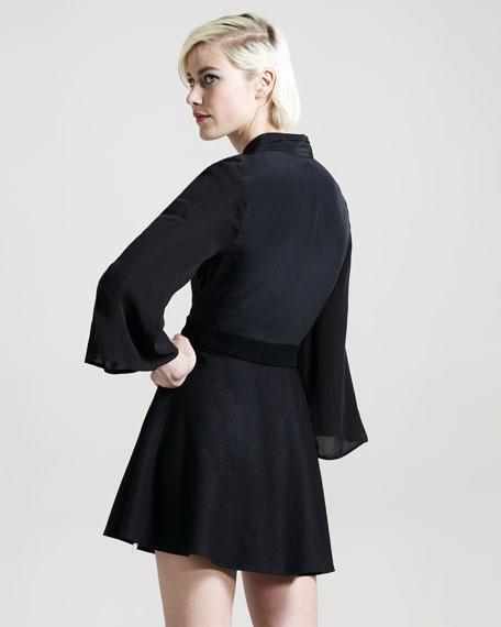 Transfix Wool-Silk Dress