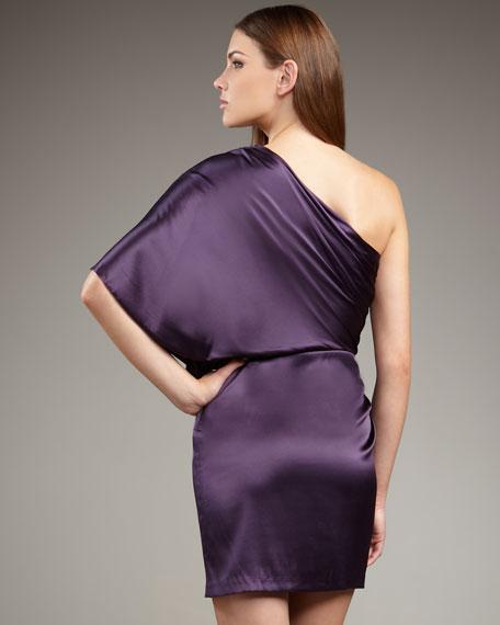 Flutter-Sleeve Grecian Dress