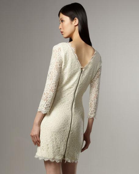 Zarita Lace Shift Dress