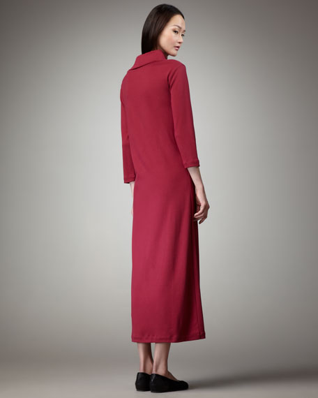 Turtleneck Maxi Dress