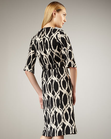 Printed Ponte Coat, Women's