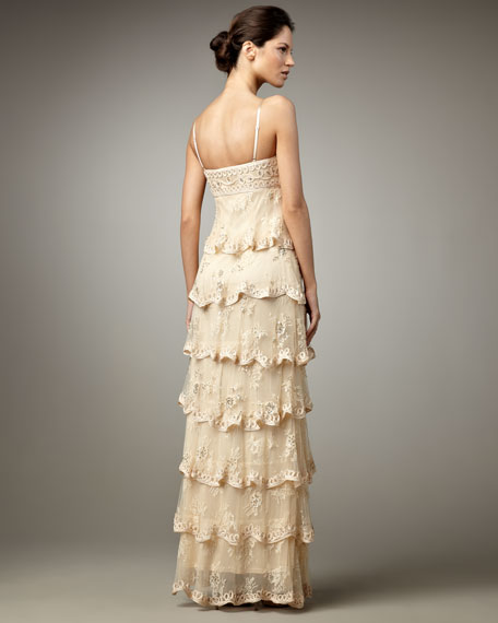 Tiered Gown