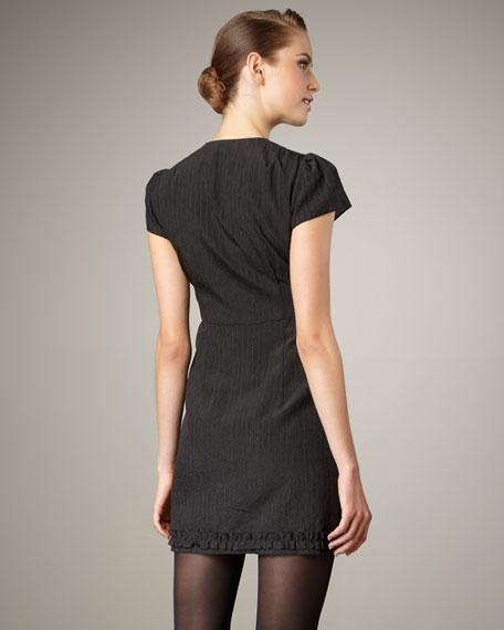 Georgina Zip-Front Dress