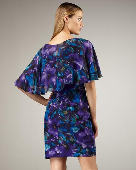 Printed-Chiffon Dress