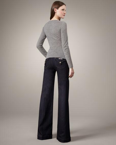 Gwen Chelsea Wide-Leg Jeans