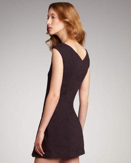 Flouncy Cap-Sleeve Dress