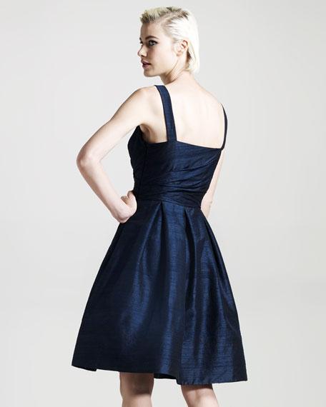 Sleeveless Doupioni Dress