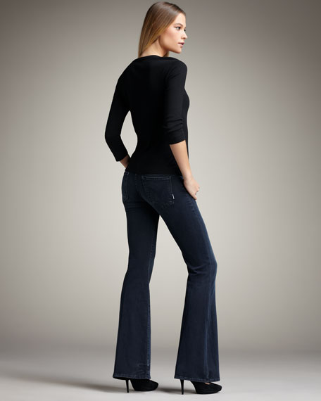 'The Wilder' Trouser, Washed Black