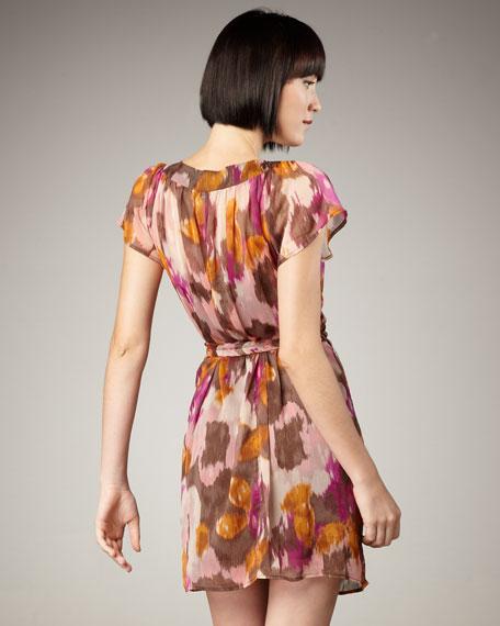 Bianca Braid-Detail Belted Dress