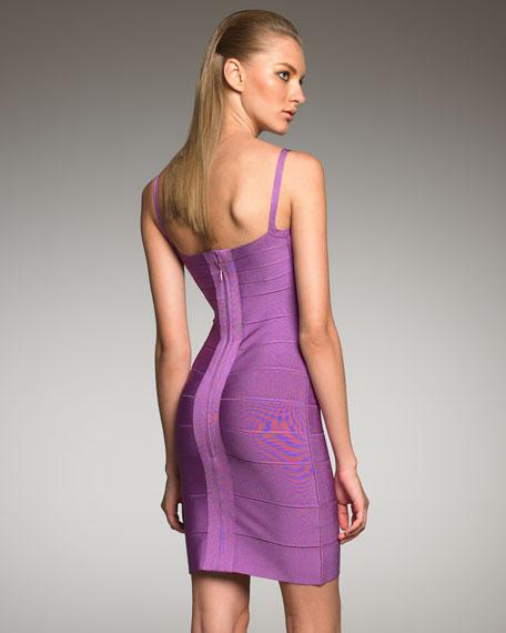 Spaghetti-Strap Bandage Dress
