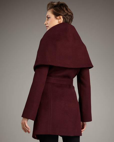 Shawl-Collar Marla Coat