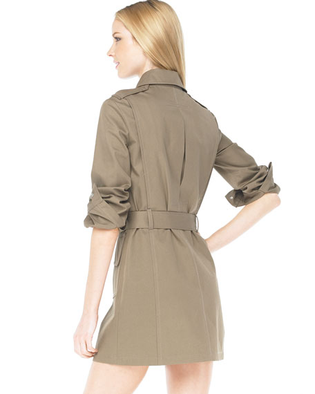 Safari Belted Trench Dress