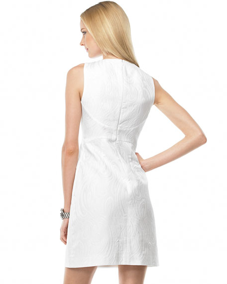 Matelasse Sheath Dress