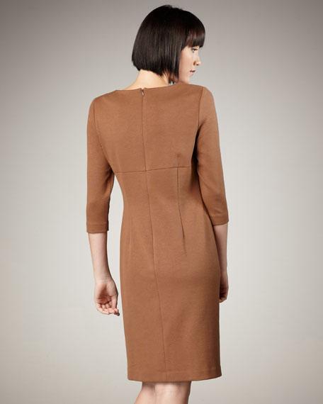 Three-Quarter-Sleeve Dress