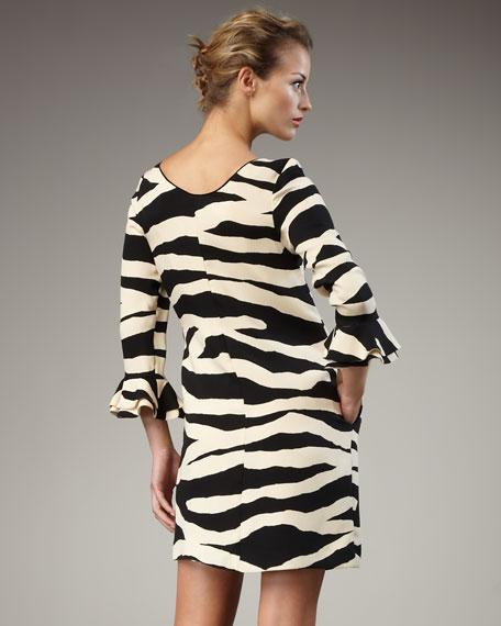 andora zebra-print dress