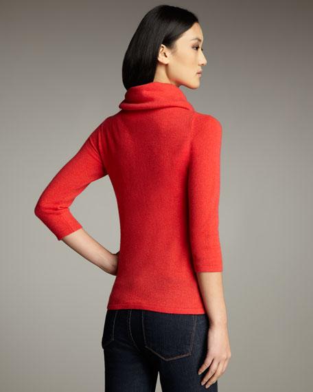 Cashmere Drawstring Sweater