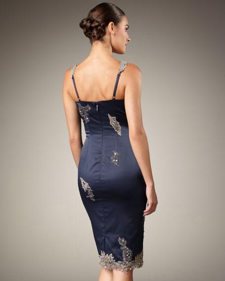 Plunging Lace Lique Dress