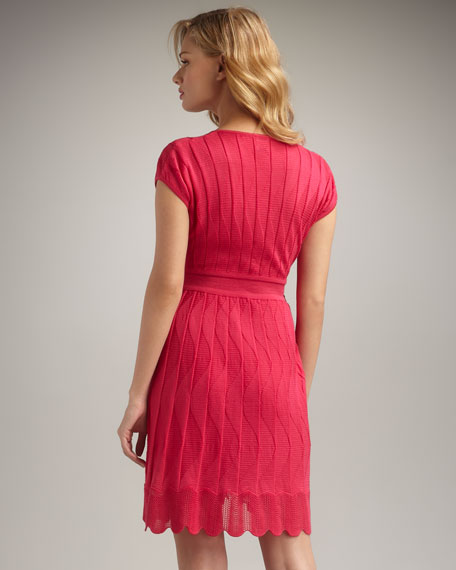 Wave-Stitch Dress
