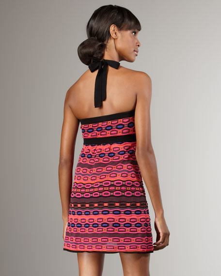Geometric Knit Dress