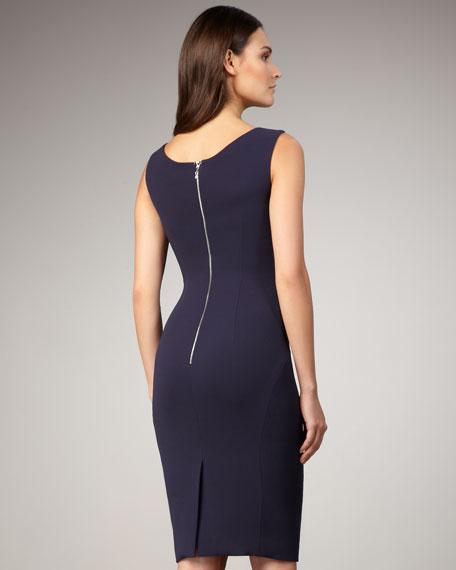 Lace-Inset Dress
