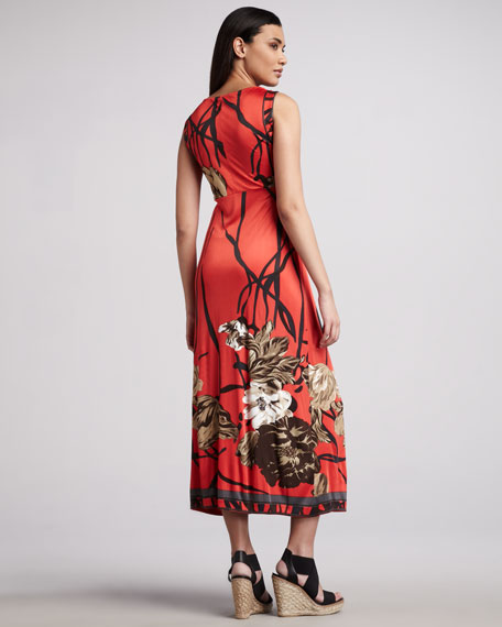 Panama Printed Midi Dress