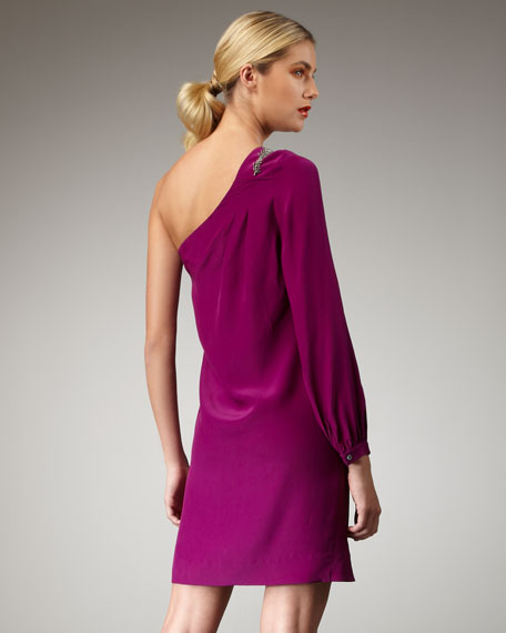 Odelle Single-Sleeve Dress