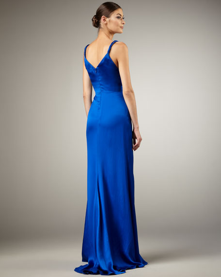 Roll-Strap Gown