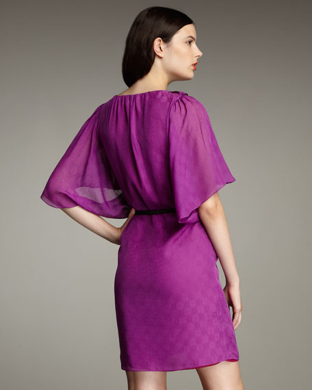 Burano Jacquard Dress