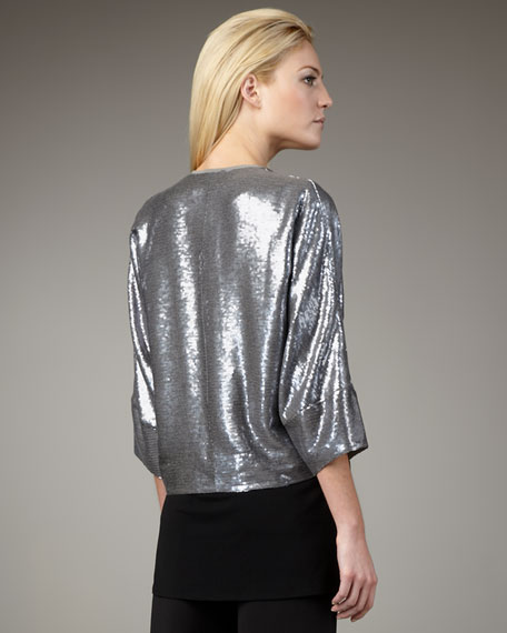 Sequined Shrug, Women's