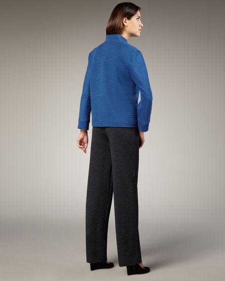Straight-Leg Knit Pants, Women's
