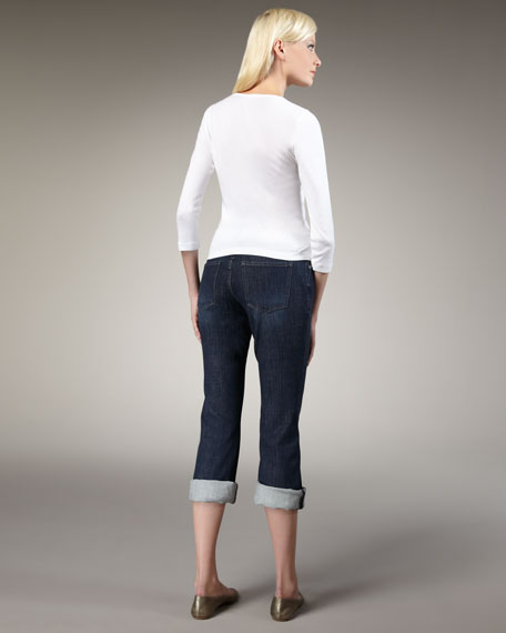 Brooklyn Roll Cropped Jeans