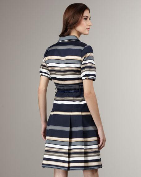 jeanette stripe dress